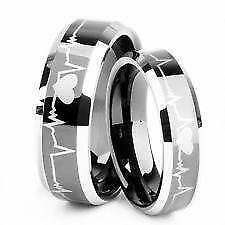 Tungsten Matching Wedding Bands