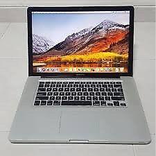 Macbook Pro 15 inch 2012 . i7 - 8 GB - 750 GB HDD