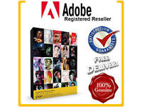 Genuine Adobe Master Collection Cs6 (PC / MAC ) Full Installation Pack With Key / Final Cut Pro