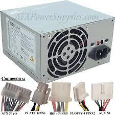 Blocs d'alimentation PC  power supply  SATA  ATX