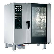 Zanussi combi oven, easy steam 10 tray gas, 12 month old Adelaide CBD Adelaide City Preview