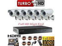 hd cctv cameras 4 in 1 supplied and fitted