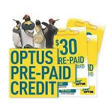 Brand New Unused Optus Prepaid Recharge value $33 Thebarton West Torrens Area Preview