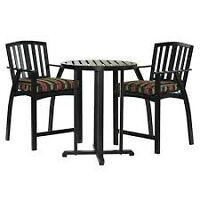 3-pc Bar Height Bistro Patio set