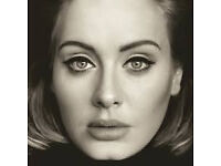 2 Adele tickets at Wembley on Wednesday 28 June 2017 - brilliant seats!