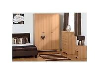 New & cheap regent bedroom range from £29 bedsides chests of drawers wardrobes