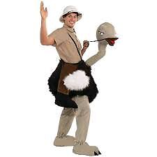 Riding ostrich costume Cambridge Kitchener Area image 1