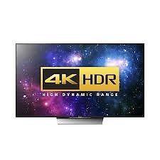 "Sony Bravia 55XD8599 LED HDR 4K Ultra HD Android TV, 55""Black Design"