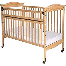Biltmore Clearview Safe Reach Full Size Crib everything included