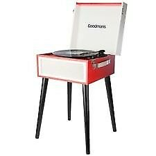 Brand New Unopened Quality Goodmans Record Player + Bluetooth Cost £79.99 sell £45 Blue or Red