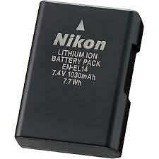 NIkon EN-EL14 battery & charger