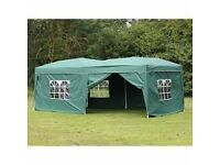 Gazebo Pop Up, plam springs with sides, thick cloth,