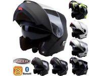 Bluetooth helmets from £130 v-can viper etc /music-phone-satnav-intercom