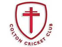 Colton Cricket Club - players wanted!!