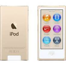 BRAND NEW iPod nano gold 16gb 7th generation Salisbury Downs Salisbury Area Preview