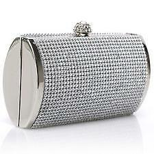 Clutch purses - Envelope, silver, black, & white | eBay