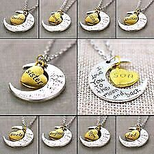 Brand new love you to the moon and back necklaces