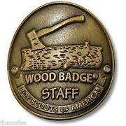 Wood Walking Staff
