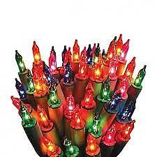 The Christmas Workshop 200 Multi-Colour Fairy Lights