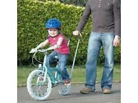 Balance buddy for helping kids learn to ride a bike