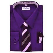 Boys Dress Shirt and Tie