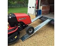 1.85m Mobility Scooter / Wheelchair access heavy duty steel ramps