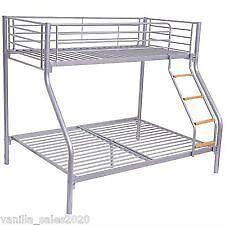 Metal triple sleeper bunk bed - £25