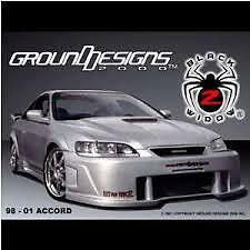 BLACKWIDOW 2 bodykit by Ground Designs for 2001 Accord  Includes Cambridge Kitchener Area image 5