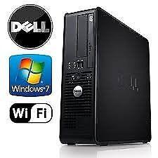 PROFESSIONALLY REFURBISHED DELL PC 4GB RAM 250GB HD DUAL 2.20GHZ ANTI VIRUS WIRELESS 6 MTHS WARRANTY