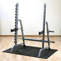 Body Solid Multi Press Squat Rack / Half Power Gun Rack