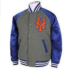 Mets leather jacket