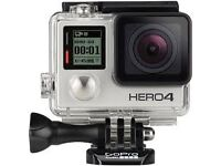 gopro hero silver with gimbal and spare batteries