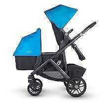New UPPAbaby Vista (2015) Single/Double Pram with Bassinet $1445