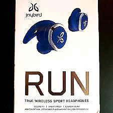 BRAND NEW SEALED PAIR OF JAYBIRD RUN Truly Wireless 160$ FLAT !!
