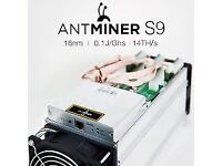 Antminer S9 14TH/s PayPal Accepted