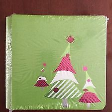 Creative Memories Holidazzle 8x8 Album with stickers