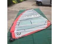 Rsx windsurfer and sails