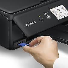 Canon PIXMA TS5020 Wireless All-in-One Inkjet Printer with 3 LCD & 100 Page Cassette