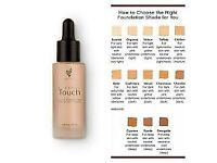 touch mineral liquid foundation sample 1ml