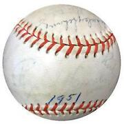 Rogers Hornsby Signed