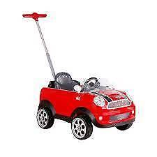 Push along mini Cooper