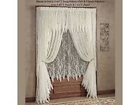 WANTED Lace curtains fabric clothes etc