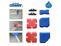 Original Cramer FUGI 5 Kit 5 Piece Grouting & Silicone Profiling Applicator Tool unwanted gift