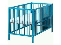 Baby Blue Cot