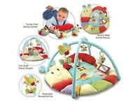 Little Bird Told Me Softly Snail Multi-Activity Baby Playmat and Gym - £20