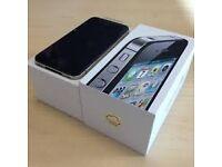 apple iphone 4s black o2 02 giff gaff tesco or i can unlock open