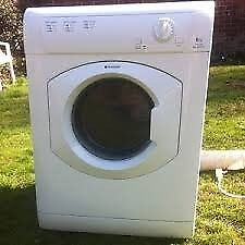 12 Hotpoint TVM560 6kg White Vented Tumble Dryer 1 YEAR GUARANTEE FREE DELIVERY
