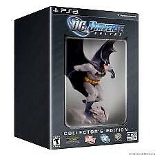 DC UNIVERSE ONLINE PC - Collector's Edition Brand New