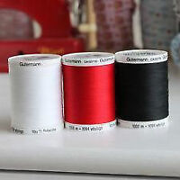 Gutermann 100% Polyester spools of thread