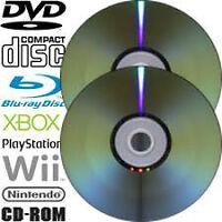 CD / DVD – Resurfacing and Repair Service